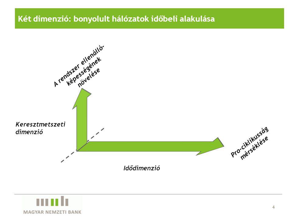 Két dimenzió: bonyolult hálózatok időbeli alakulása