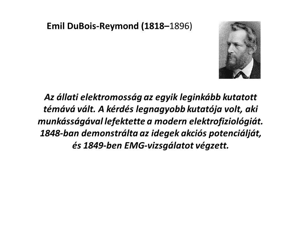 Emil DuBois-Reymond (1818–1896)