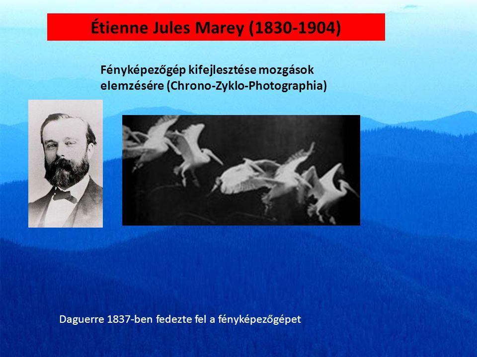 Étienne Jules Marey (1830-1904)