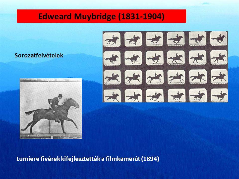 Edweard Muybridge (1831-1904) Sorozatfelvételek