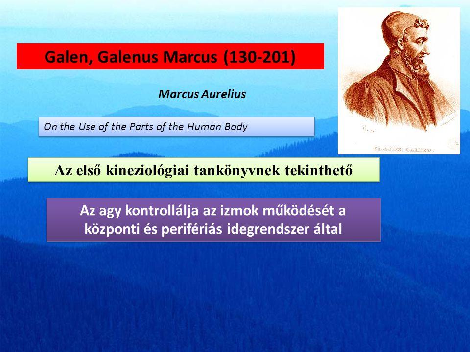 Galen, Galenus Marcus (130-201)
