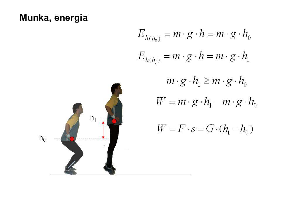 Munka, energia h1 h0