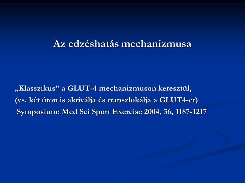 Az edzéshatás mechanizmusa