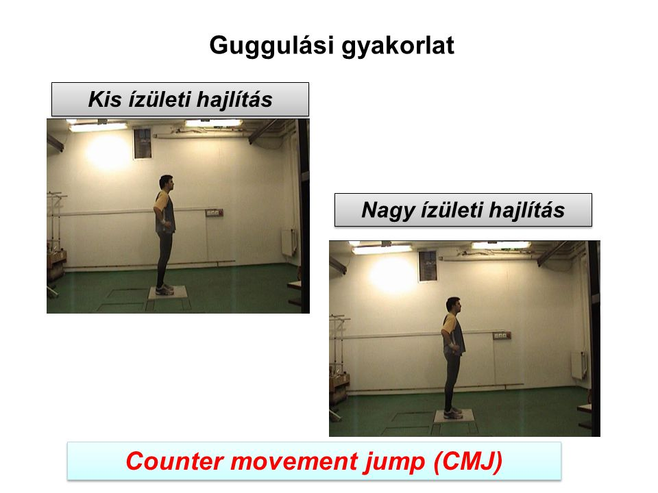 Counter movement jump (CMJ)