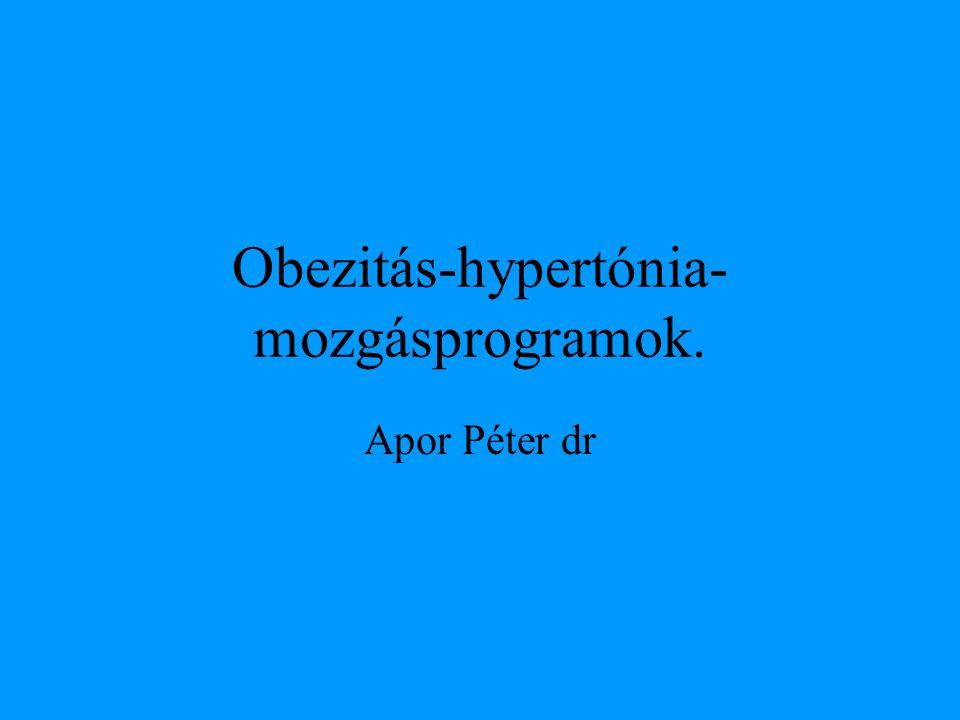 Obezitás-hypertónia-mozgásprogramok.