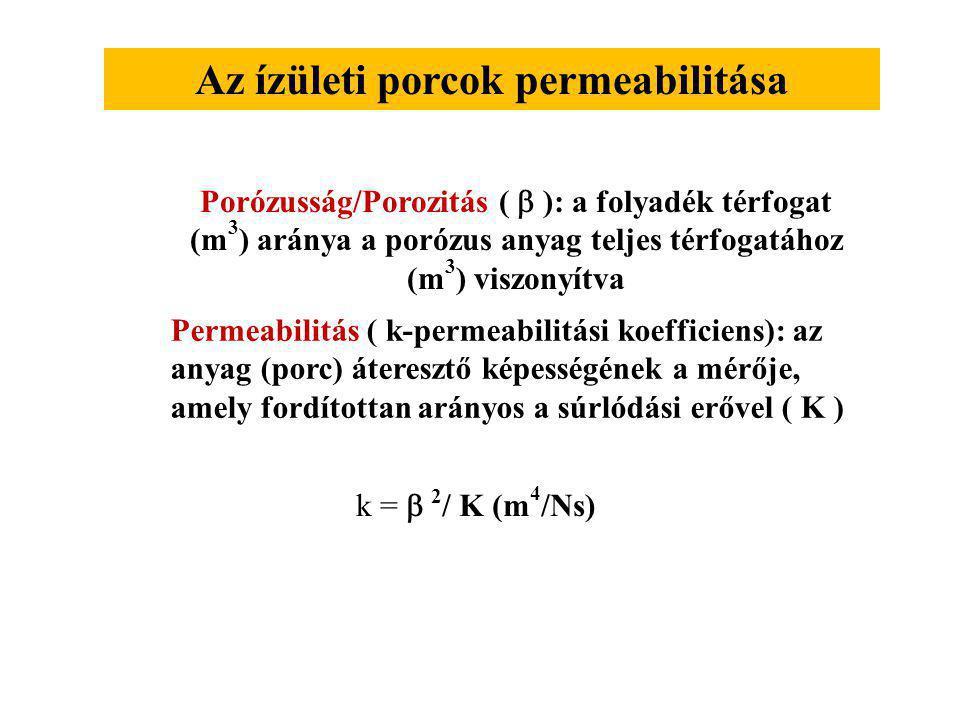 Az ízületi porcok permeabilitása