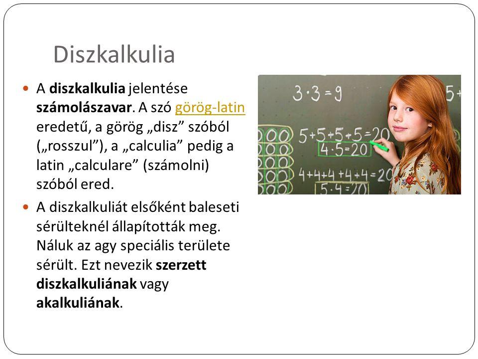 Diszkalkulia