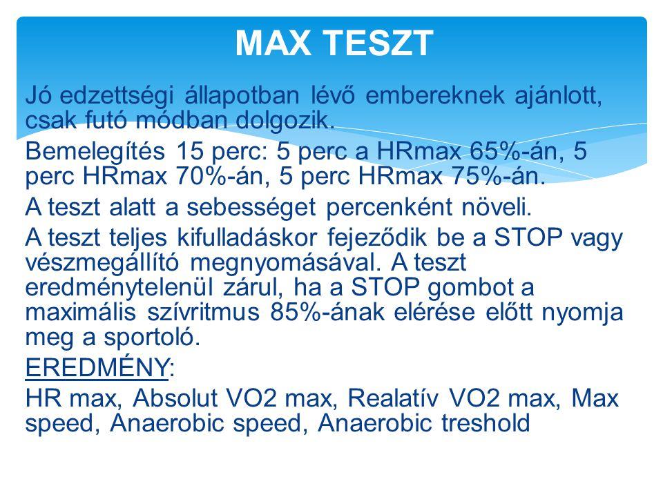 MAX TESZT
