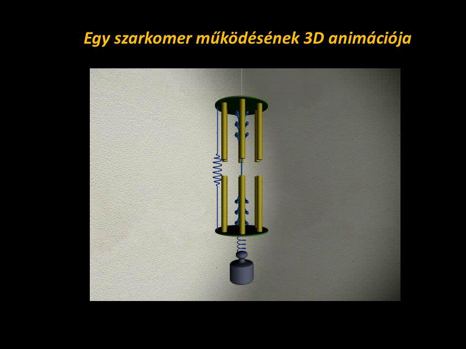 Egy szarkomer működésének 3D animációja