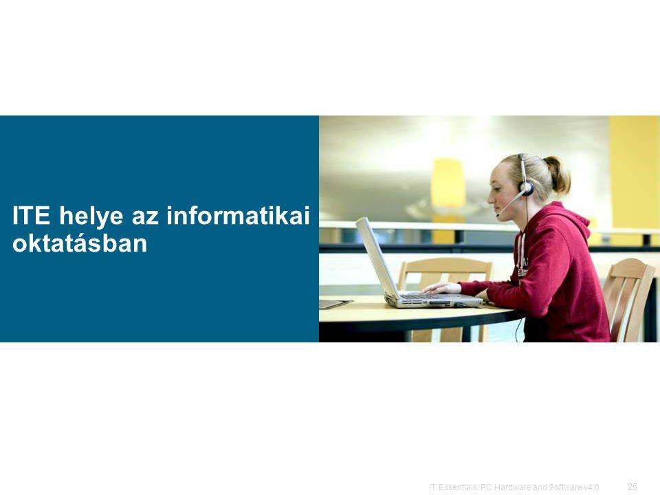 ITE helye az informatikai oktatásban