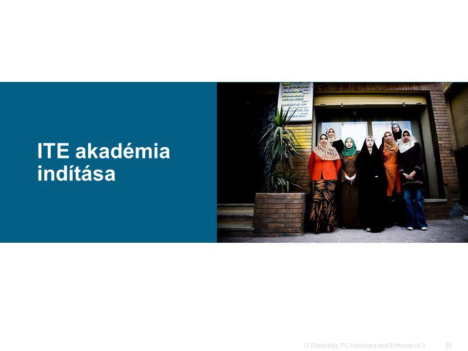 ITE akadémia indítása