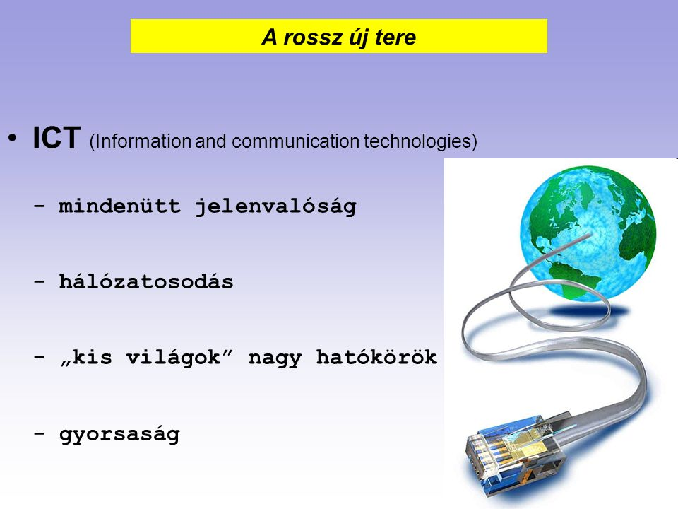 ICT (Information and communication technologies)