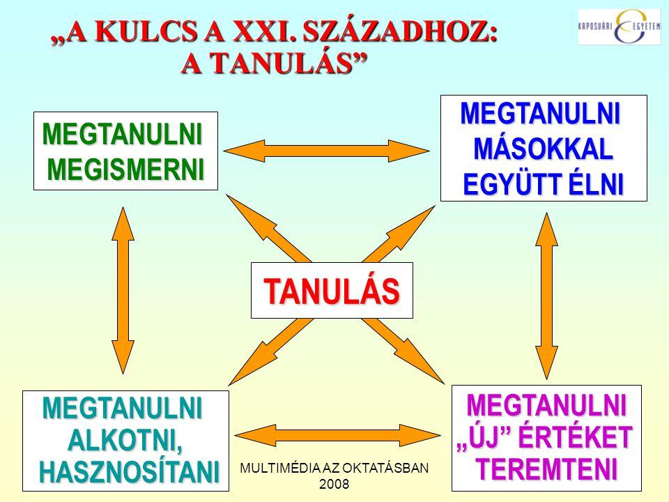 """""""A KULCS A XXI. SZÁZADHOZ: A TANULÁS"""