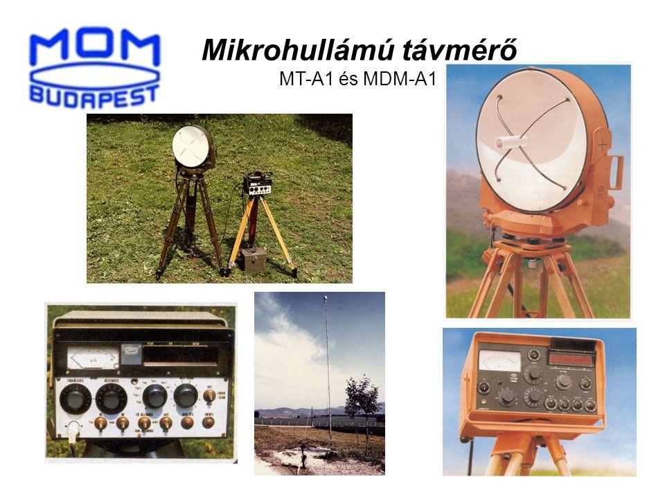 Mikrohullámú távmérő MT-A1 és MDM-A1