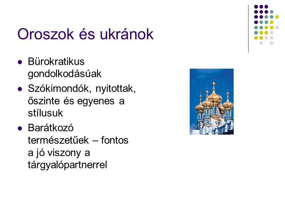 Oroszok és ukránok Bürokratikus gondolkodásúak