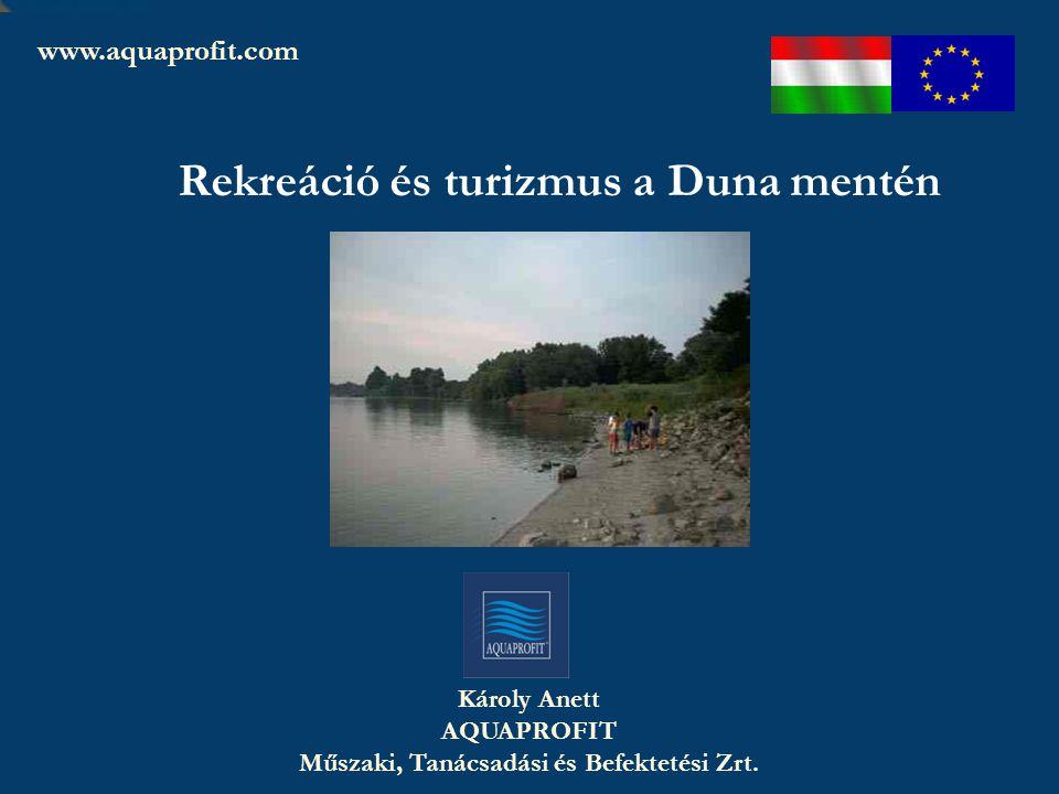 Rekreáció és turizmus a Duna mentén