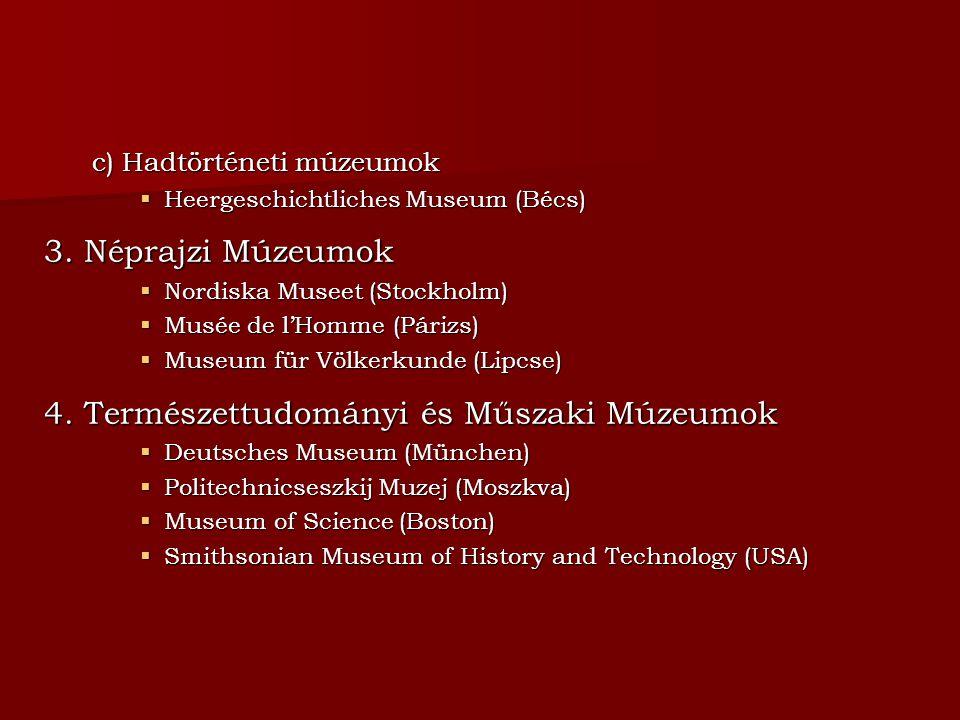 4. Természettudományi és Műszaki Múzeumok