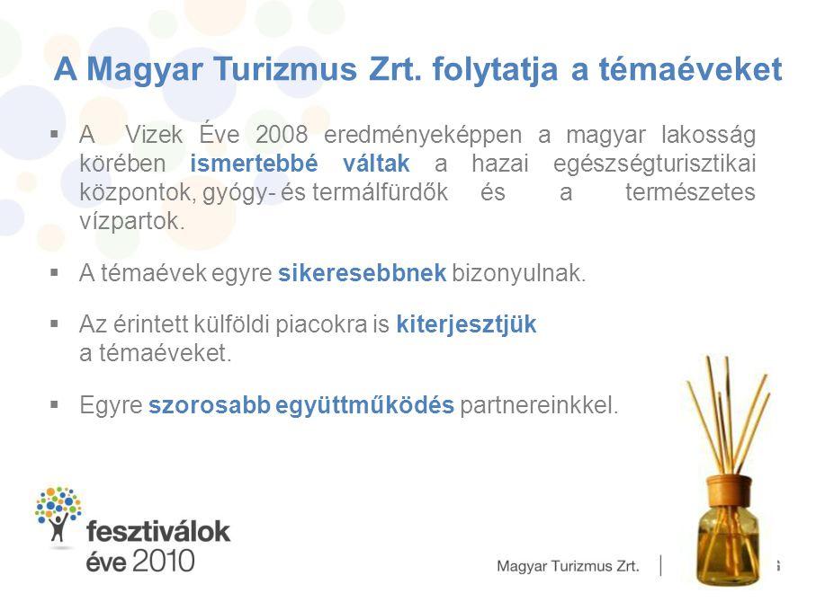 A Magyar Turizmus Zrt. folytatja a témaéveket