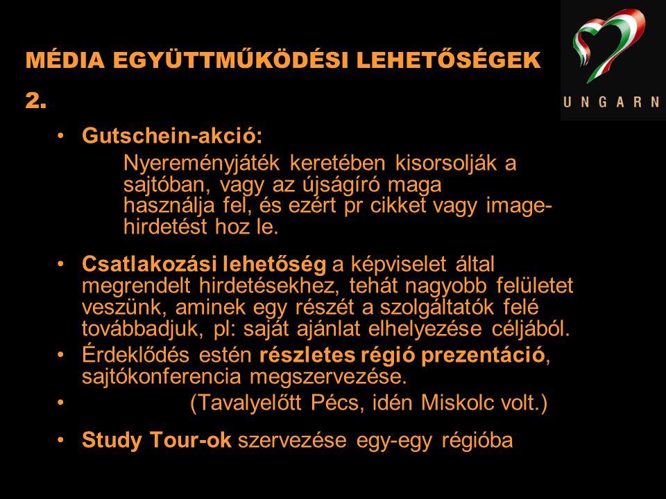 MÉDIA EGYÜTTMŰKÖDÉSI LEHETŐSÉGEK 2.