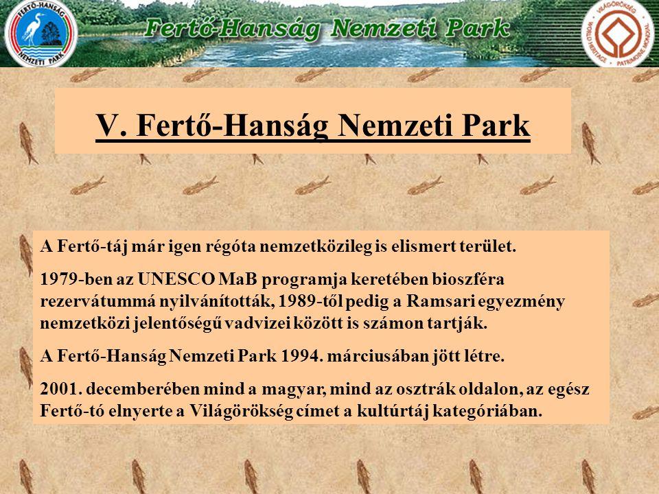 V. Fertő-Hanság Nemzeti Park