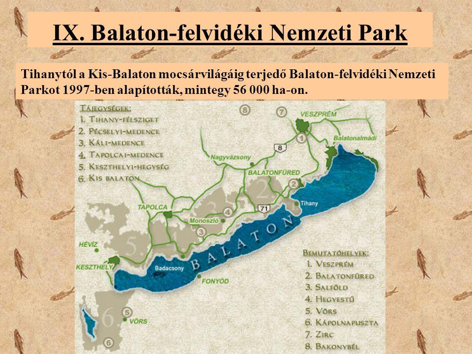 IX. Balaton-felvidéki Nemzeti Park