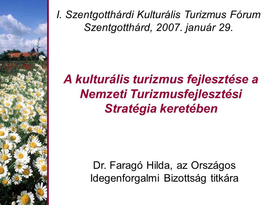Dr. Faragó Hilda, az Országos Idegenforgalmi Bizottság titkára