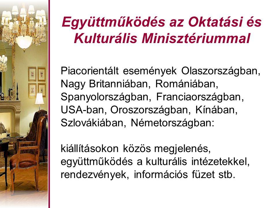 Együttműködés az Oktatási és Kulturális Minisztériummal