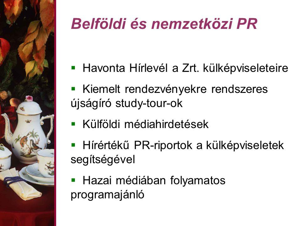 Belföldi és nemzetközi PR