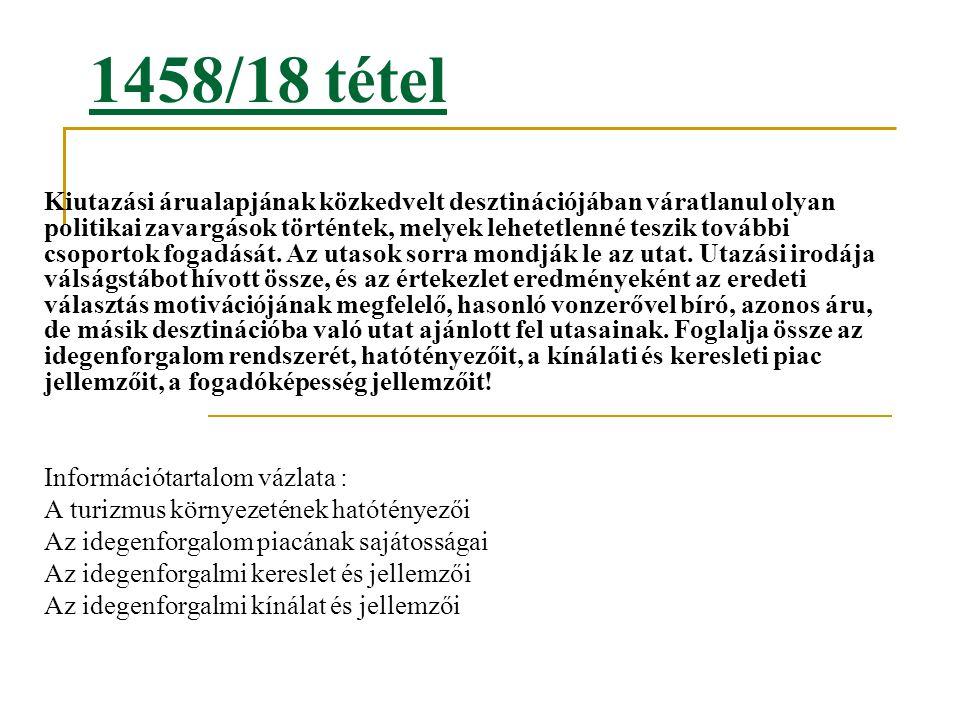 1458/18 tétel
