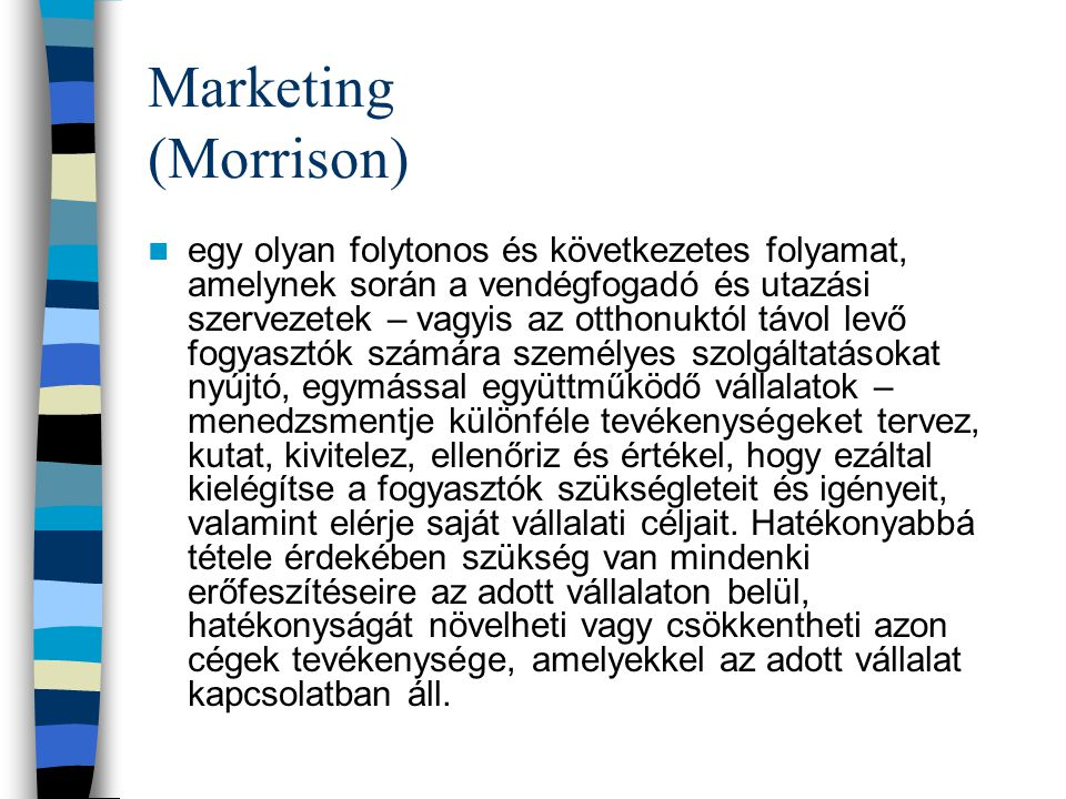 Marketing (Morrison)