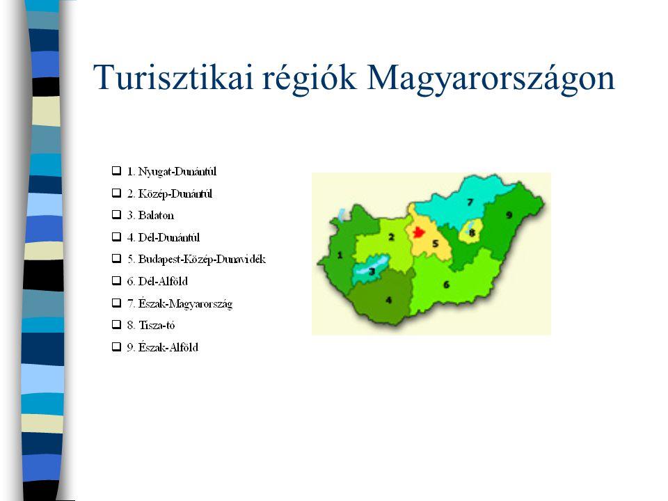 Turisztikai régiók Magyarországon