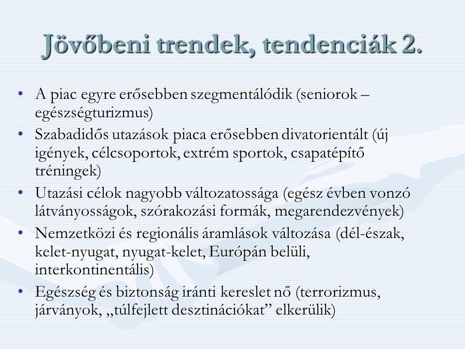 Jövőbeni trendek, tendenciák 2.