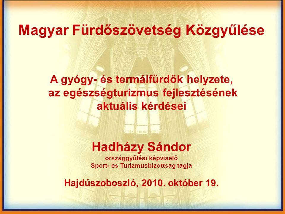 Magyar Fürdőszövetség Közgyűlése