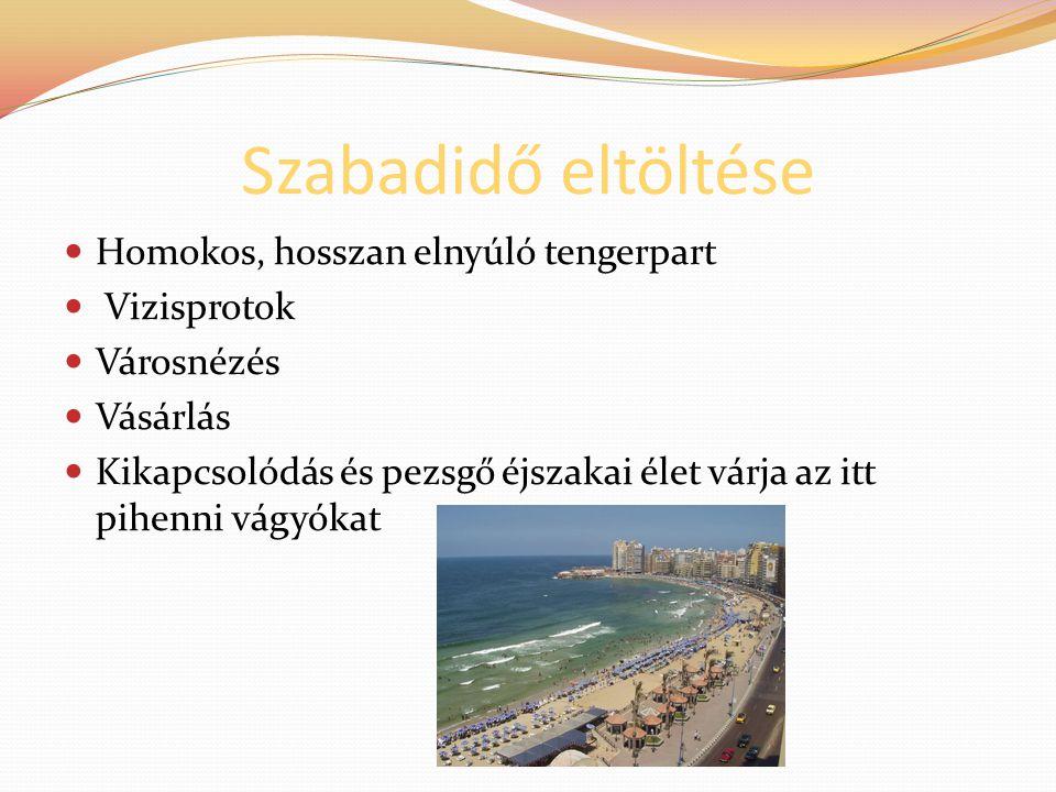 Szabadidő eltöltése Homokos, hosszan elnyúló tengerpart Vizisprotok