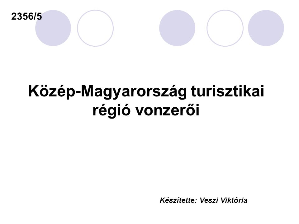 Közép-Magyarország turisztikai régió vonzerői