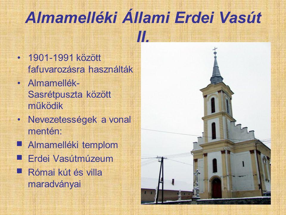 Almamelléki Állami Erdei Vasút II.
