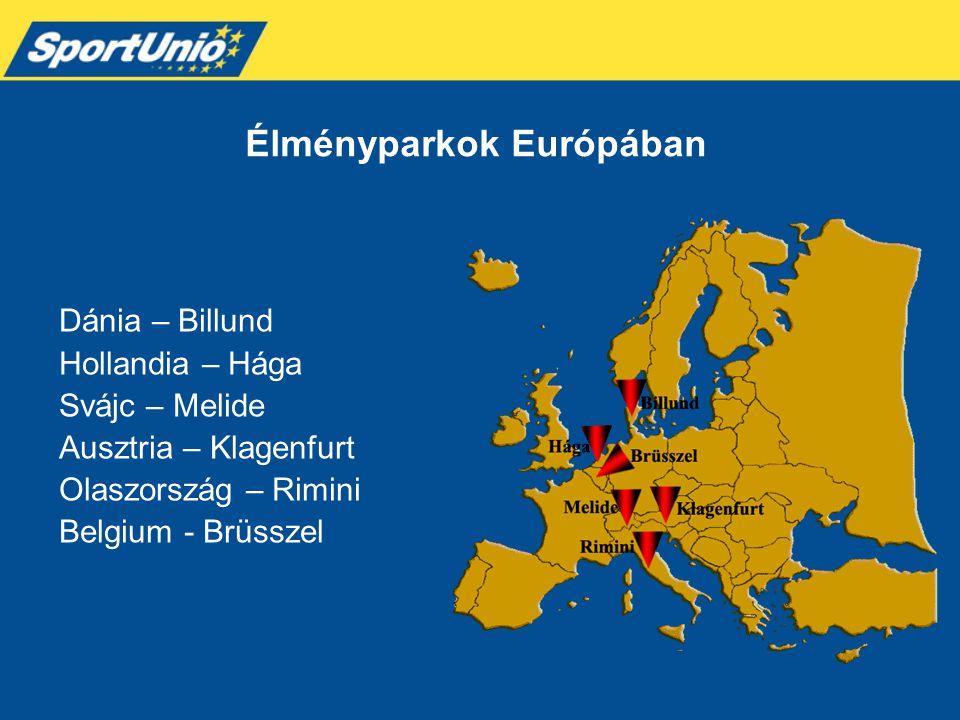 Élményparkok Európában