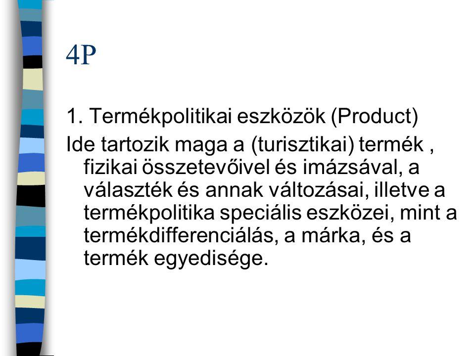 4P 1. Termékpolitikai eszközök (Product)