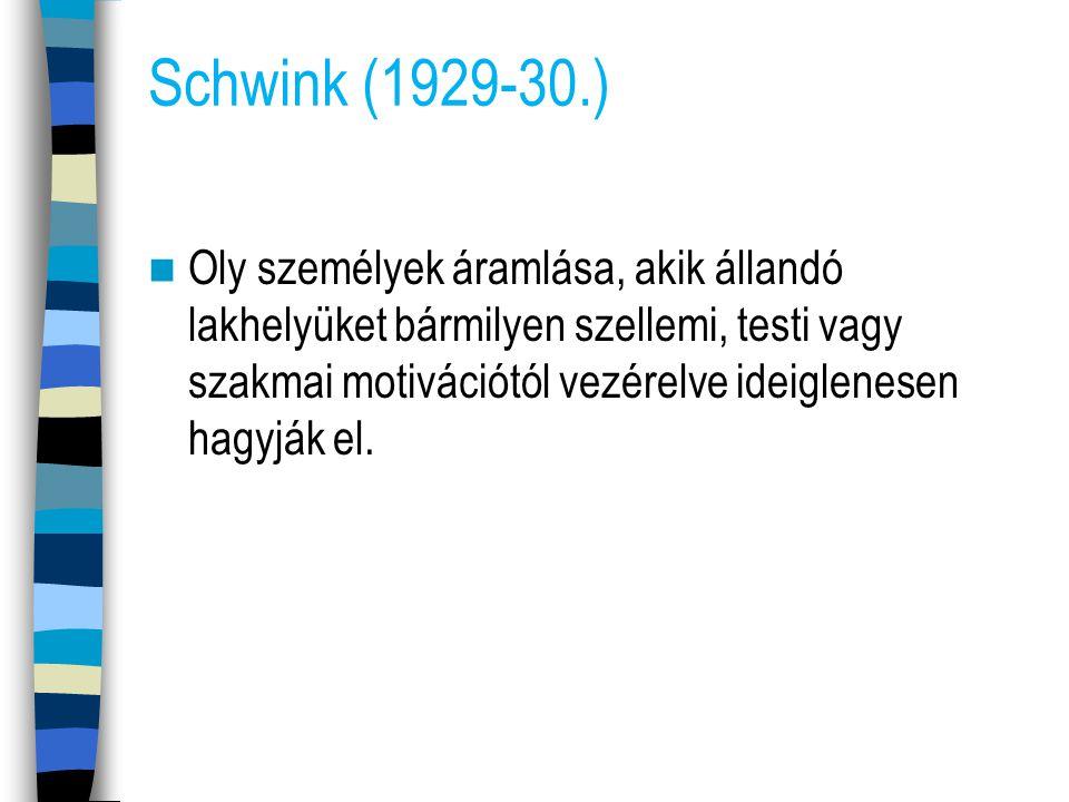Schwink (1929-30.)