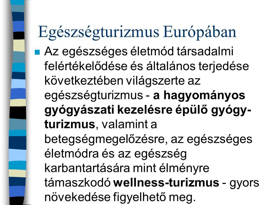 Egészségturizmus Európában