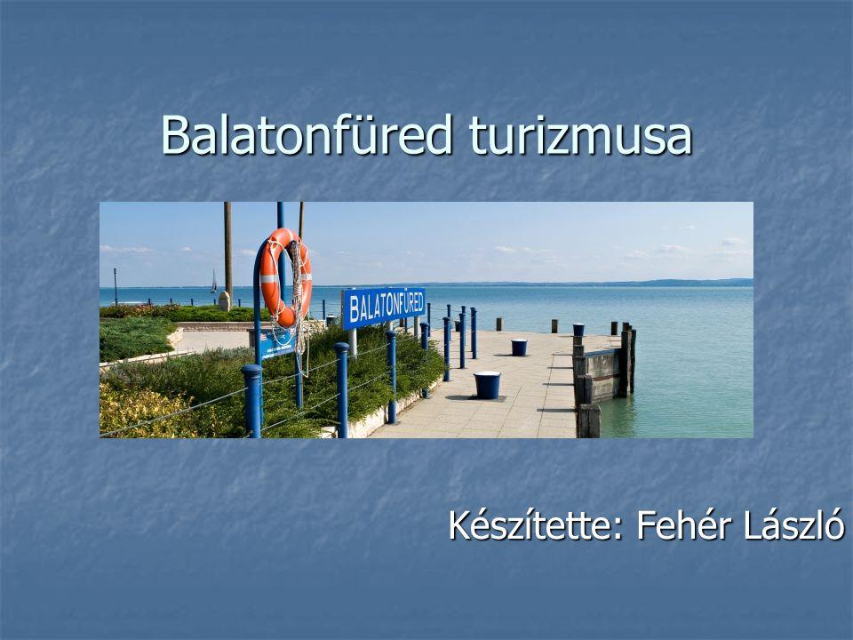 Balatonfüred turizmusa