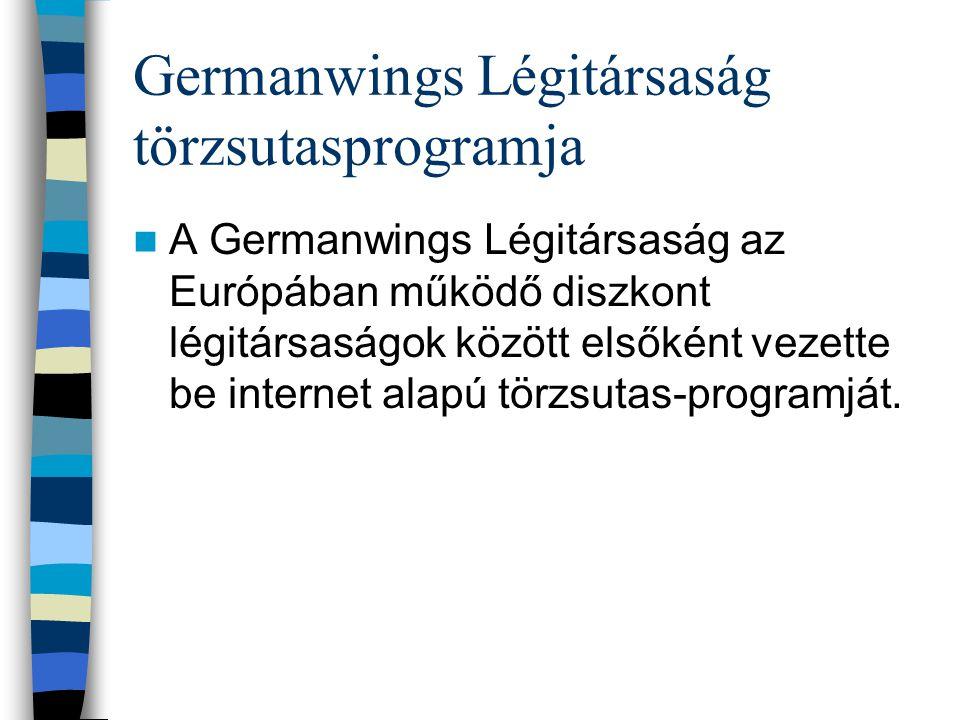Germanwings Légitársaság törzsutasprogramja