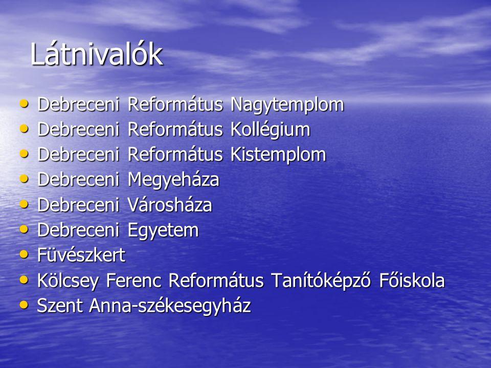 Látnivalók Debreceni Református Nagytemplom
