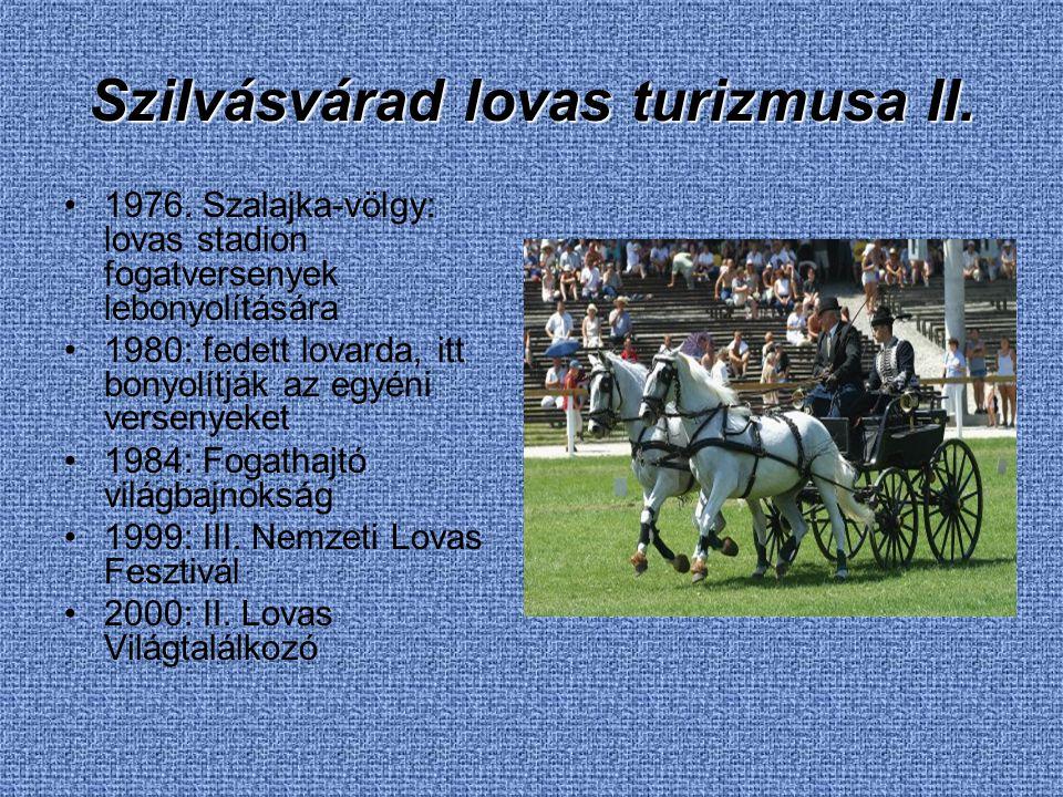 Szilvásvárad lovas turizmusa II.