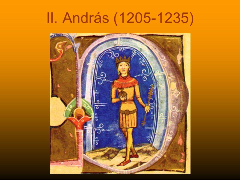 II. András (1205-1235)