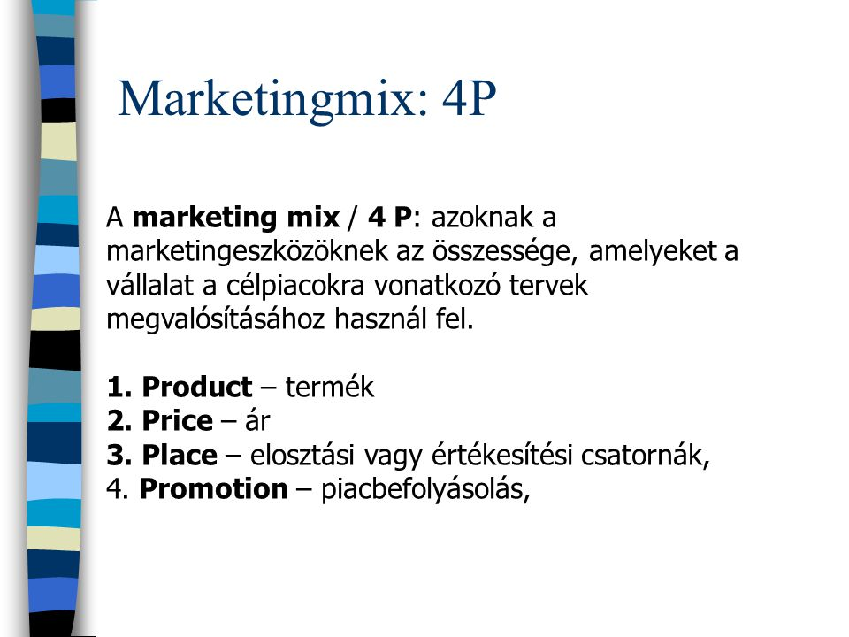 Marketingmix: 4P