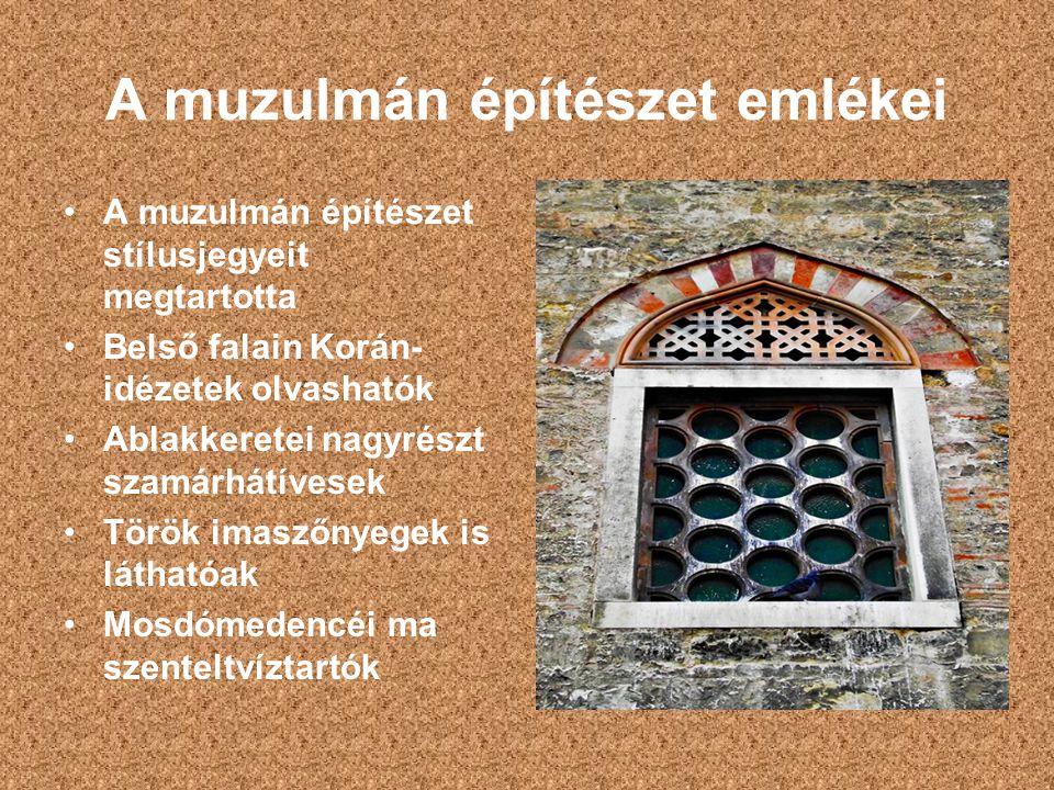 A muzulmán építészet emlékei