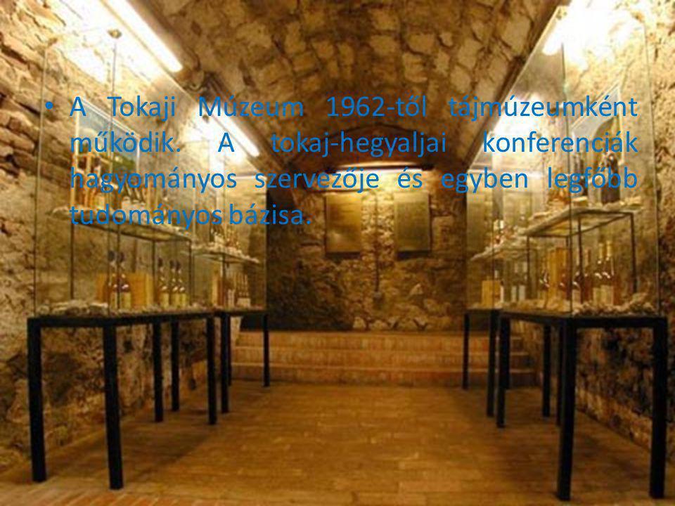 A Tokaji Múzeum 1962-től tájmúzeumként működik