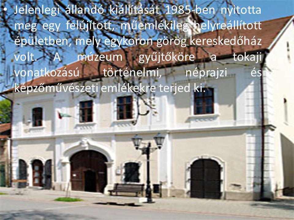 Jelenlegi állandó kiállítását 1985-ben nyitotta meg egy felújított, műemlékileg helyreállított épületben, mely egykoron görög kereskedőház volt.
