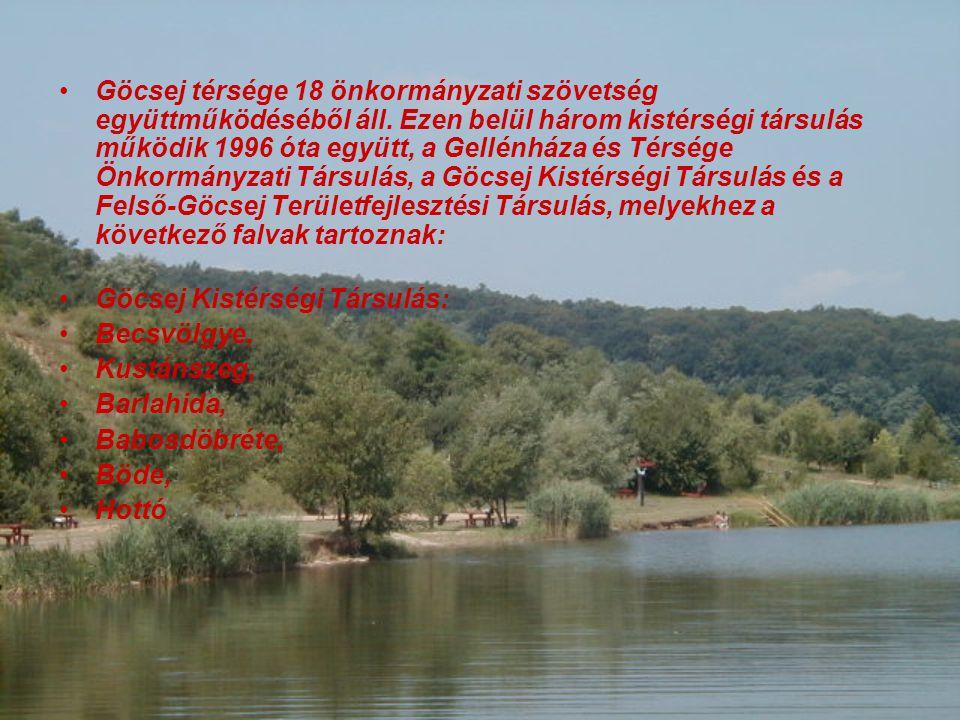 Göcsej térsége 18 önkormányzati szövetség együttműködéséből áll